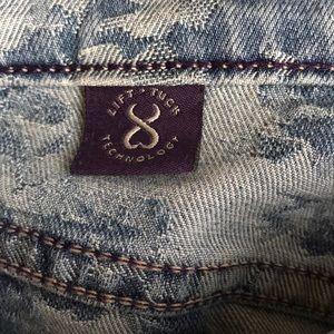 NYDJ Jeans - NYDJ light wash floral print ankle jean